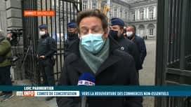 RTL INFO 13H : Coronavirus: Loïc Parmentier fait le point en direct du Palais d'Eg...