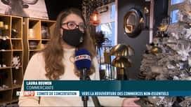 RTL INFO 13H : Coronavirus: réactions de commerçants prêts pour la réouverture à L...