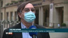 RTL INFO 13H : Coronavirus: la vigilance reste de mise même si les chiffres sont e...