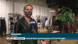 RTL INFO 19H : Coronavirus: les commerces non-essentiels rouvrent le 1er décembre