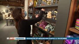 RTL INFO 13H : Coronavirus: les commerces non-essentiels préparent la réouverture