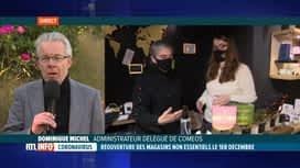 RTL INFO 13H : Coronavirus: avis de Coméos sur la réouverture des commerces non...