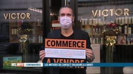 RTL INFO 19H : Coronavirus: les métiers de contact doivent rester à l'arrêt