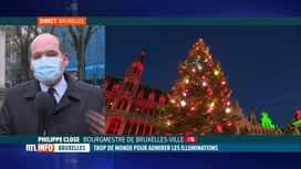 RTL INFO 13H : Coronavirus: l'accès à la Grand'Place de Bruxelles sera-t-il limité?