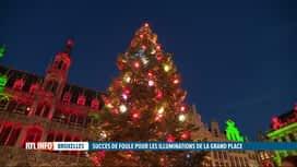 RTL INFO 19H : Coronavirus: Noël attire trop de monde à Bruges et à Bruxelles