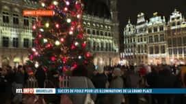 RTL INFO 19H : Coronavirus: quelle est l'ambiance sur la Grand'Place de Bruxelles?