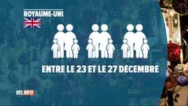 RTL INFO 19H : Coronavirus: comment nos voisins européens vont-ils fêter Noël?