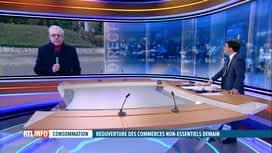 RTL INFO 13H : Coronavirus: Dominique Michel (Comeos) commente la réouverture des ...