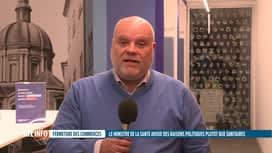 RTL INFO 19H : Réouverture des magasins : Pierre-Frédéric Nyst est en direct