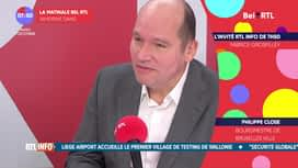 La matinale Bel RTL : Philippe Close (01/12)