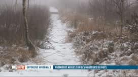 RTL INFO 13H : La première neige est tombée sur les hauteurs du pays