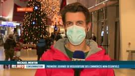 RTL INFO 19H : Coronavirus et commerce: Michael Menten dresse le bilan de cette jo...