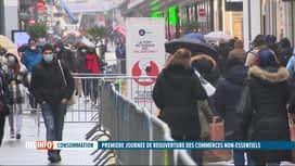 RTL INFO 19H : Coronavirus: un dispositif de sécurité mis en place rue Neuve à Bru...