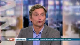 RTL INFO 19H : Coronavirus et commerce: Christophe Wambersie est l'invité du RTLIn...