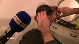 """RTL INFO 19H : Coronavirus: certains coiffeurs travaillent """"en black"""" malgré l'int..."""