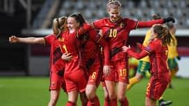 Red Flames : 01/12 : Belgique - Suisse ( les buts)