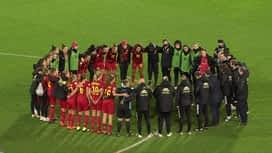 Red Flames : 01/12 : Belgique - Suisse : 2e mi-temps