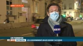 RTL INFO 19H : La stratégie de vaccination est au coeur des discussions politiques