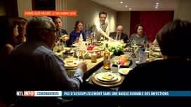 RTL INFO 19H : Coronavirus: pas d'assouplissement à attendre malgré les bons chiffres