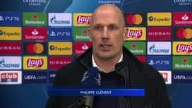 Champions League : 02/12 : Philippe Clement (FC Bruges)