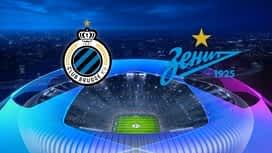 Champions League : 02/12: FC Bruges - Zenit