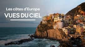 Les côtes d'Europe vues du ciel en replay