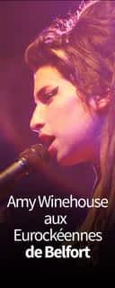Amy Winehouse aux Eurockéennes de Belfort