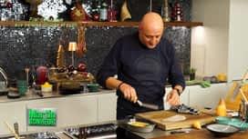 Martin Bonheur : Filet de barbue aux patates douces et curry