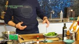 Martin Bonheur : Raie vapeur mayonnaise a l'oseille