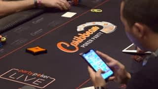 Adrián Mateos au Caribbean Poker Party 2019 - épisode 1