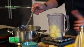Martin Bonheur : Mousse de pommes de terre