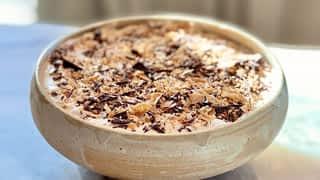 Saumon Gravlax et mousse croustillante au chocolat