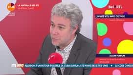 La matinale Bel RTL : Alain Maron (06/01)