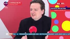 La matinale Bel RTL : François de Smet (07/10)