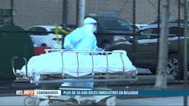 RTL INFO 13H : Coronavirus: la Belgique passe le cap des 20 000 décès