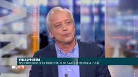 RTL INFO 19H : Coronavirus: Yves Coppieters revient sur le plateau