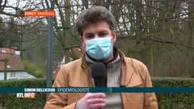 RTL INFO 13H : Coronavirus: Simon Dellicour évoque la nouvelle souche du virus