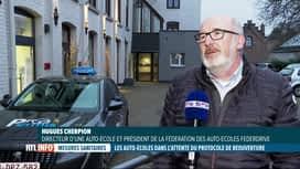 RTL INFO 13H : Coronavirus: les auto-écoles peuvent rouvrir aujourd'hui