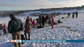 RTL INFO 13H : Les promeneurs du week-end ont causé de nombreux dégâts à La Reid