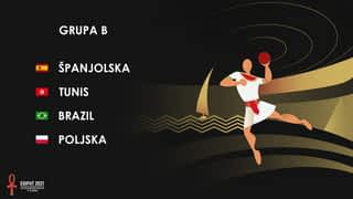 Svjetsko prvenstvo u rukometu 2021. - GRUPA B