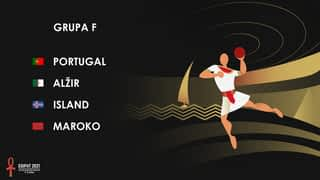 Svjetsko prvenstvo u rukometu 2021. - GRUPA F
