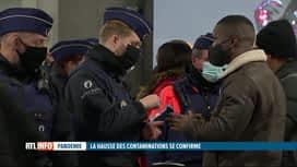 RTL INFO 19H : Coronavirus: hausse des contaminations à Bruxelles et dans les Brab...