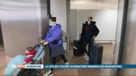 RTL INFO 19H : Coronavirus: les bourgmestres peuvent contrôler l'obligation de qua...