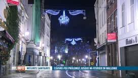 RTL INFO 19H : Coronavirus: la Wallonie a décidé de maintenir le couvre-feu