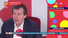 La matinale Bel RTL : Frédéric Daerden (12-01)