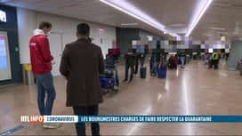 RTL INFO 13H : Coronavirus: la police locale wallonne pourra contrôler les quarant...