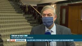 RTL INFO 19H : Coronavirus: Vincent De Wolf demande de pouvoir contrôler la quaran...