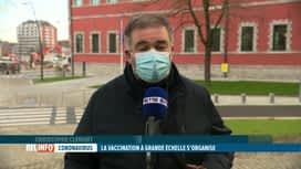 RTL INFO 13H : Comment la Wallonie va-t-elle organiser la suite de la vaccination?