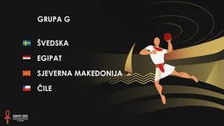 Svjetsko prvenstvo u rukometu 2021. - GRUPA G