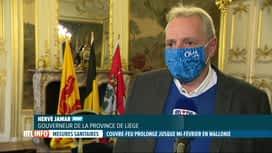 RTL INFO 13H : Coronavirus: le couvre-feu en Wallonie est prolongé jusqu'au 15...
